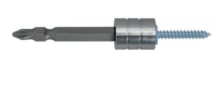 АДАПТЕР для шурупов магнитный Whirl Power + 1 бита двухст., 65мм