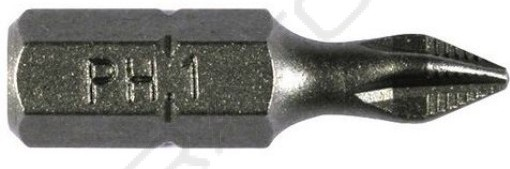 БИТА PH 1 х 25 мм  Whirl Power с насечкой Профи